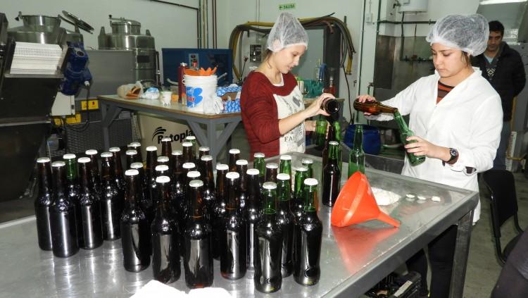 Proceso de elaboración de cerveza