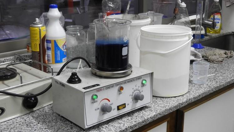 Nueva fabricación de tinta ecológica