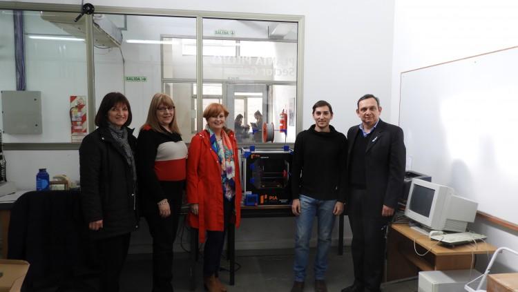 La FCAI adquirió una impresora 3D