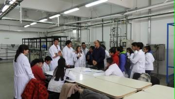Nos visitó la Escuela de Educación Técnica N° 4-191 \Dr. Daniel Hugo Pierini\