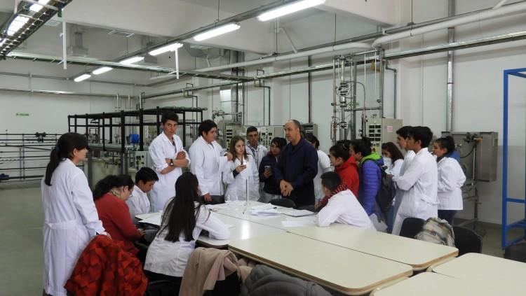 """Nos visitó la Escuela de Educación Técnica N° 4-191 """"Dr. Daniel Hugo Pierini"""""""