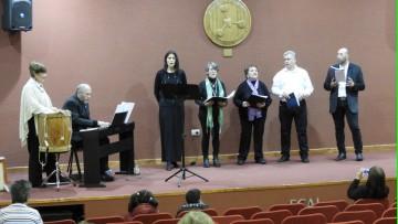 Se celebró el  concierto 22° aniversario Coro de la FCAI