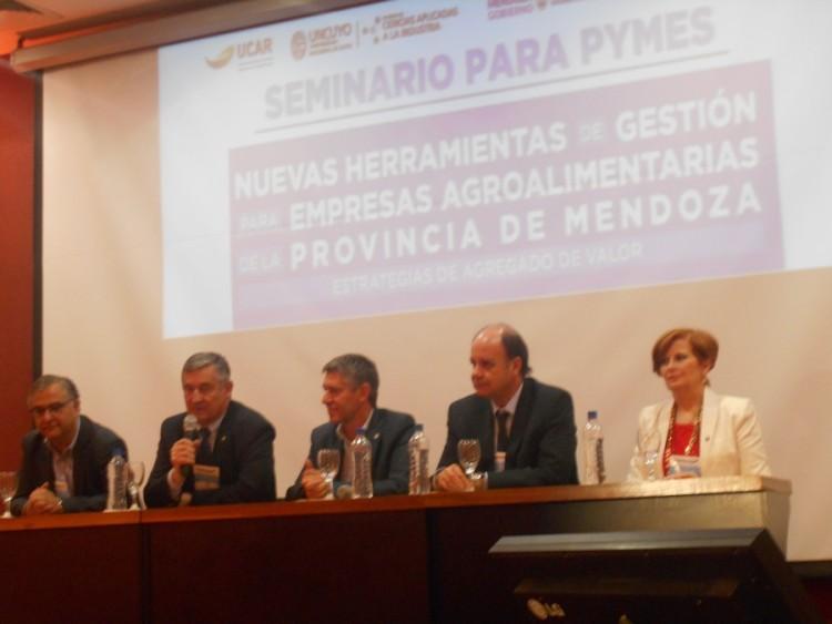 Se desarrolló el Seminario Nuevas Herramientas de Gestión para empresas Agroalimentarias de la Provincia de Mendoza