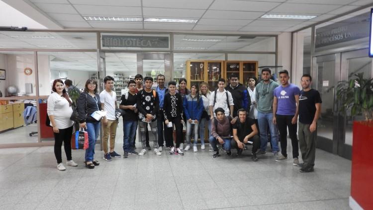Recibimos la visita de la Escuela 4 - 235 Eduardo Platero