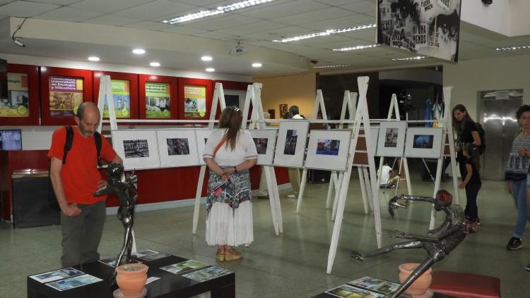 Muestra artística en la FCAI por los 80 años de la Liga Argentina por los Derechos del Hombre