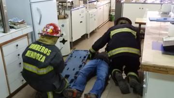 Simulacro de evacuación en la FCAI