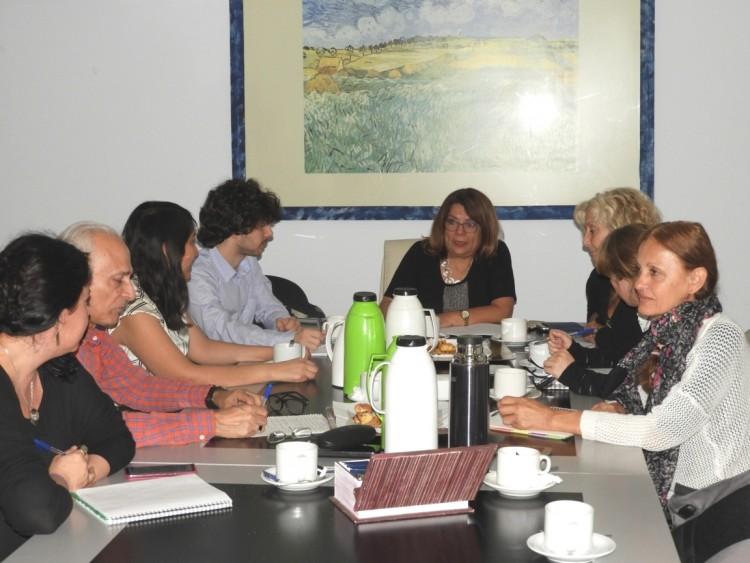 Reunión entre referentes del Área de Discapacidad de UNCuyo