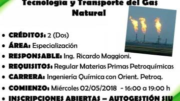 """Electiva E 115 """"Tecnología y Transporte del Gas Natural"""""""