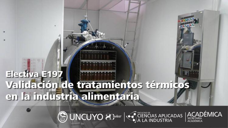 Electiva E197Validación de tratamientos térmicos en la industria alimentaria