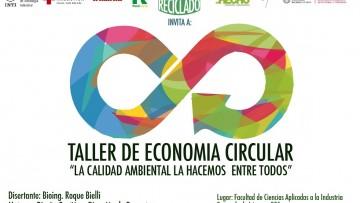 """Taller de Economía Circular  en la FCAI: """"La calidad ambiental la hacemos entre todos"""""""