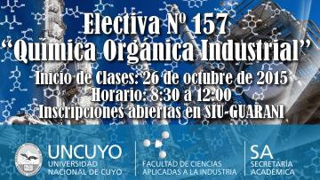 "Electiva Nº 157 ""Química Orgánica Industrial"""