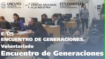 Voluntariado Encuentro de Generaciones