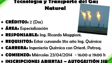 CURSO ELECTIVO Nº 115 Tecnología y Transporte del Gas Natural