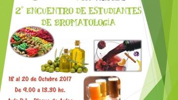 2º Encuentro de Estudiantes de Bromatología