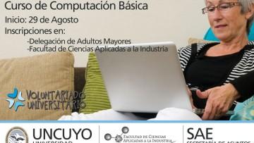 Cursos Gratuitos Voluntariado Universitario Encuentro de Generaciones - Informática para Adultos Mayores\