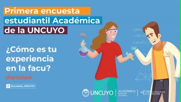Primer encuesta estudiantil Académica de la UNCUYO