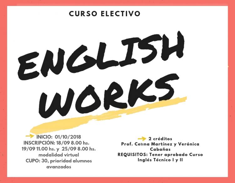 "Electiva E17 ""English Works"""
