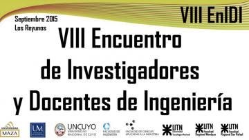 VIII EnIDI (Encuentro de Investigadores y Docentes de Ingeniería)