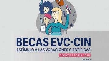 Convocatoria abierta a Becas de Estímulo a las Vocaciones Científicas 2020