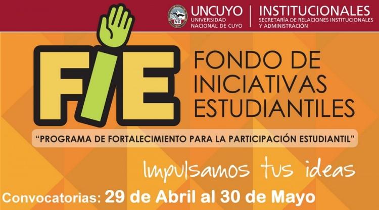 Lanzamiento del Fondo de Iniciativas Estudiantiles