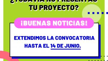 Extienden el plazo para presentar proyectos a la convocatoria del FIE