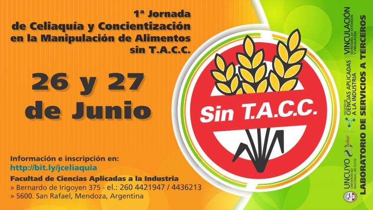 Primera Jornada de Celiaquía y Concientización en la Manipulación de Alimentos sin T.A.C.C.