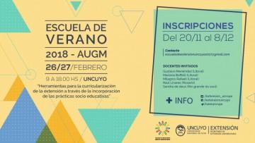 Se abren las inscripciones para la Escuela de Verano 2018 - AUGM