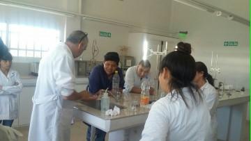 Prácticas universitarias de enología en la Escuela de Agricultura