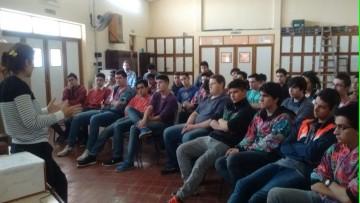 Extensión visitó la escuela Reynaldo Merín y el colegio Cristo Redentor
