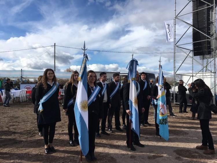 La FCAI participó del el Día de la Patria en la Villa 25 de Mayo