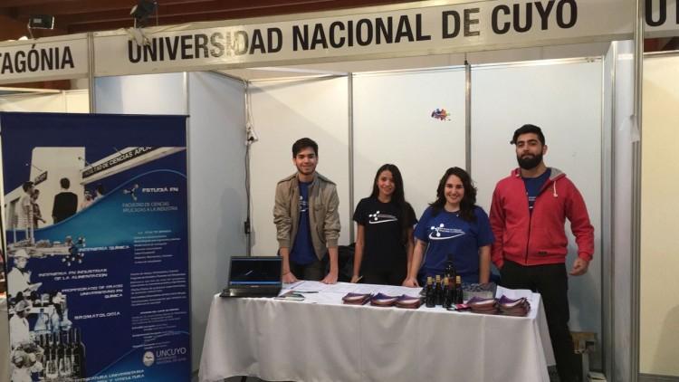 La Facultad de Ciencias Aplicadas a la Industria participó del Octava edición de la Expo Vocacional en Neuquén