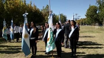 Las Banderas de Ceremonias de la FCAI participaron del Acto por el Día de la Memoria