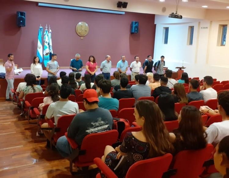Comenzó el curso de Ingreso 2020 de la FCAI