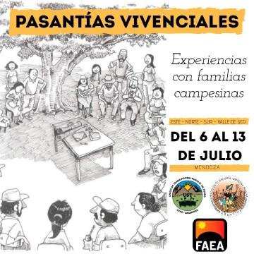 Pasantías Vivenciales en el Movimiento Campesino De Mendoza