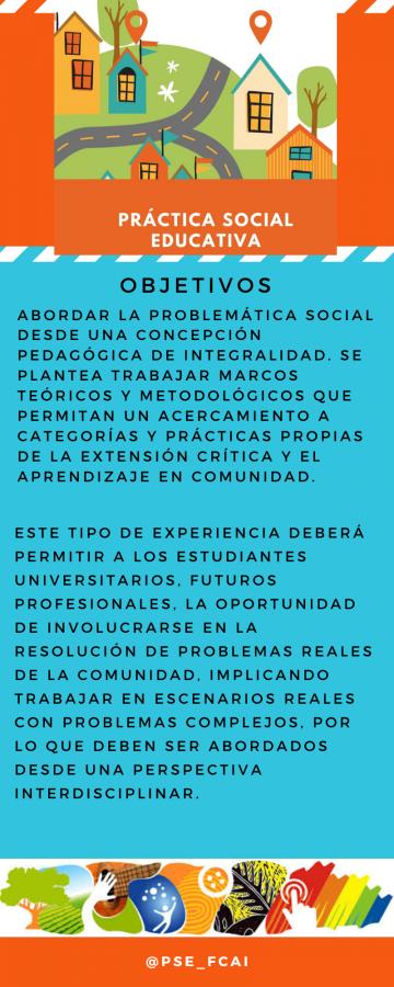 Práctica social educativa