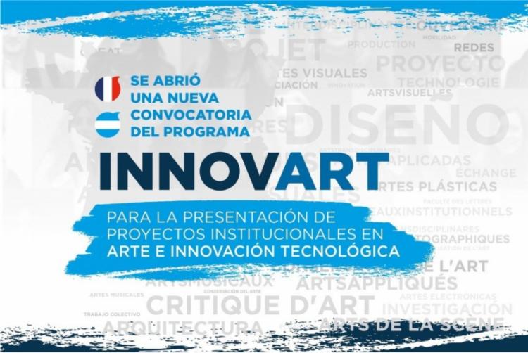 INNOVART 2019: Financiamiento para proyectos de Arte e Innovación con Francia