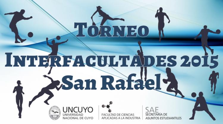 Torneo Interfacultades 2015 - Horarios de partidos