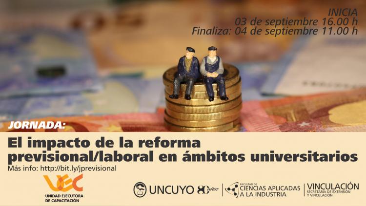 El impacto de la reforma previsional/laboral en ámbitos universitarios
