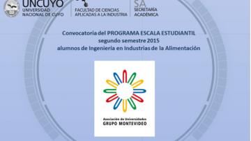 Movilidad Grupo Montevideo - Ingeniería Alimentos