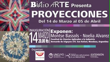 BIBLIO ARTE, muestra PROYECCIONES
