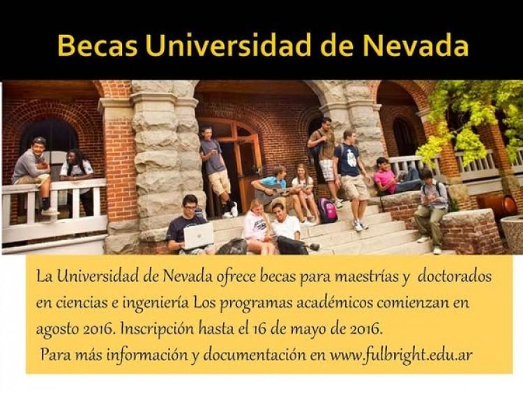 Becas de la Universidad de Nevada, USA