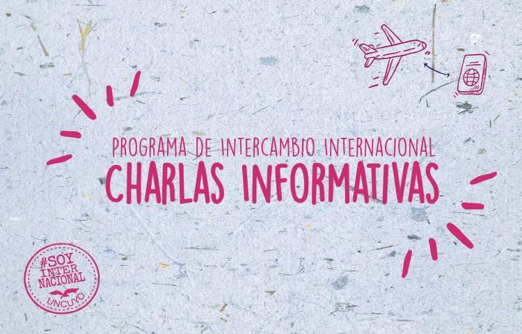 Charla informativa del Programa de Intercambio Internacional