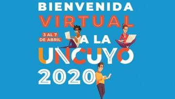 Bienvenida virtual a la UNCUYO para estudiantes de primer año