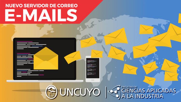 Nuevo servidor de correos electronicos