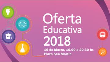 Oferta educativa 2018