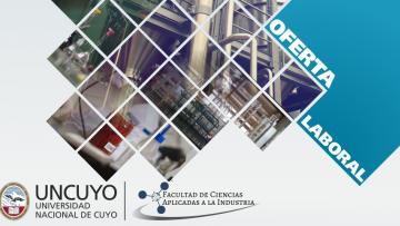 Oferta laboral para Químicos Industriales