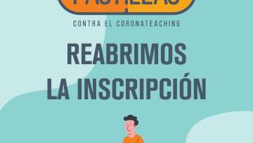 """Inscripción al espacio """"Pastillas contra el coronateaching"""""""