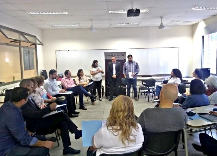 El Consejo Social Zona Sur realizó la plenaria 2018