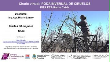 Poda Invernal de Ciruelos Charla Virtual