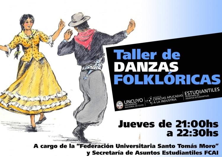 Taller de danzas folklóricas en la FCAI